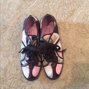 Coach tennis shoes | Coach sneakers size 9.5